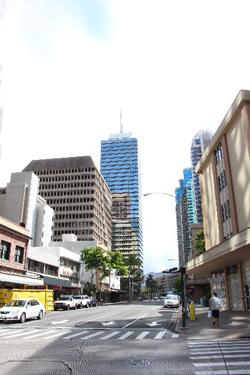 ハワイのダウンタウン