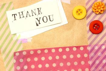 感謝カード