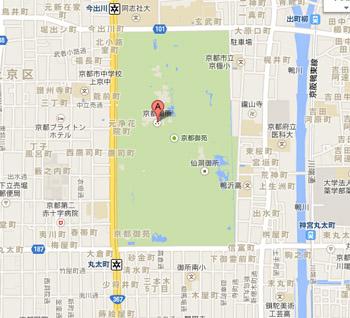 京都御苑マップ