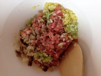 肉まん 具の作り方2