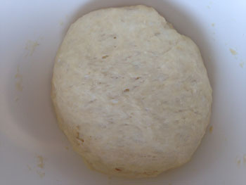 肉まん生地の発酵1