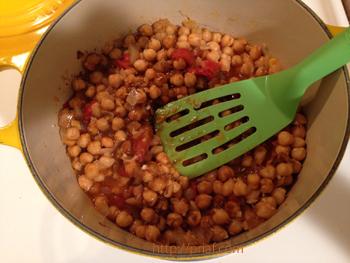 インドカレー作り方ースパイス煮る