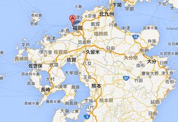 志賀島地図