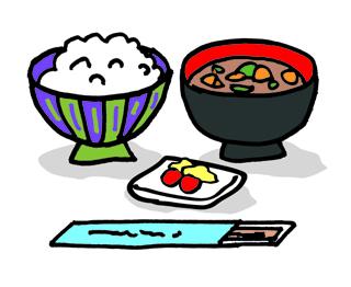 和食の朝ご飯