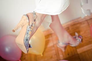 ヒールの靴