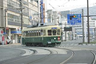 長崎の電車