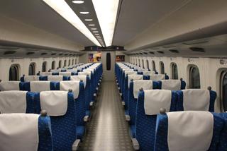 新幹線の席