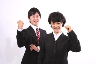 男女の新入社員