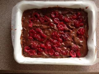 ラズベリーチョコケーキ6