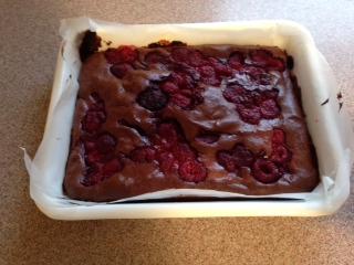 ラズベリーチョコケーキ8