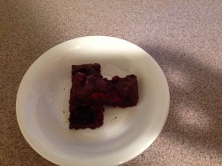 ラズベリーチョコケーキ