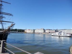フィンランドの港町