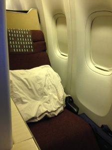 JAL ビジネスクラスシート