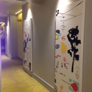 ホテルインディゴーヘルシンキー廊下1
