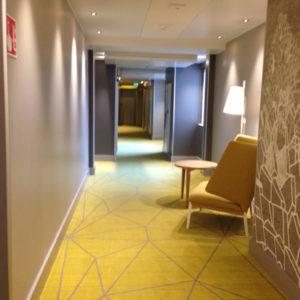 ホテルインディゴーヘルシンキー廊下2