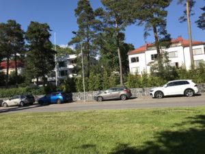 ヒルトン ヘルシンキ カラスタヤトロッパ の周りの住宅地